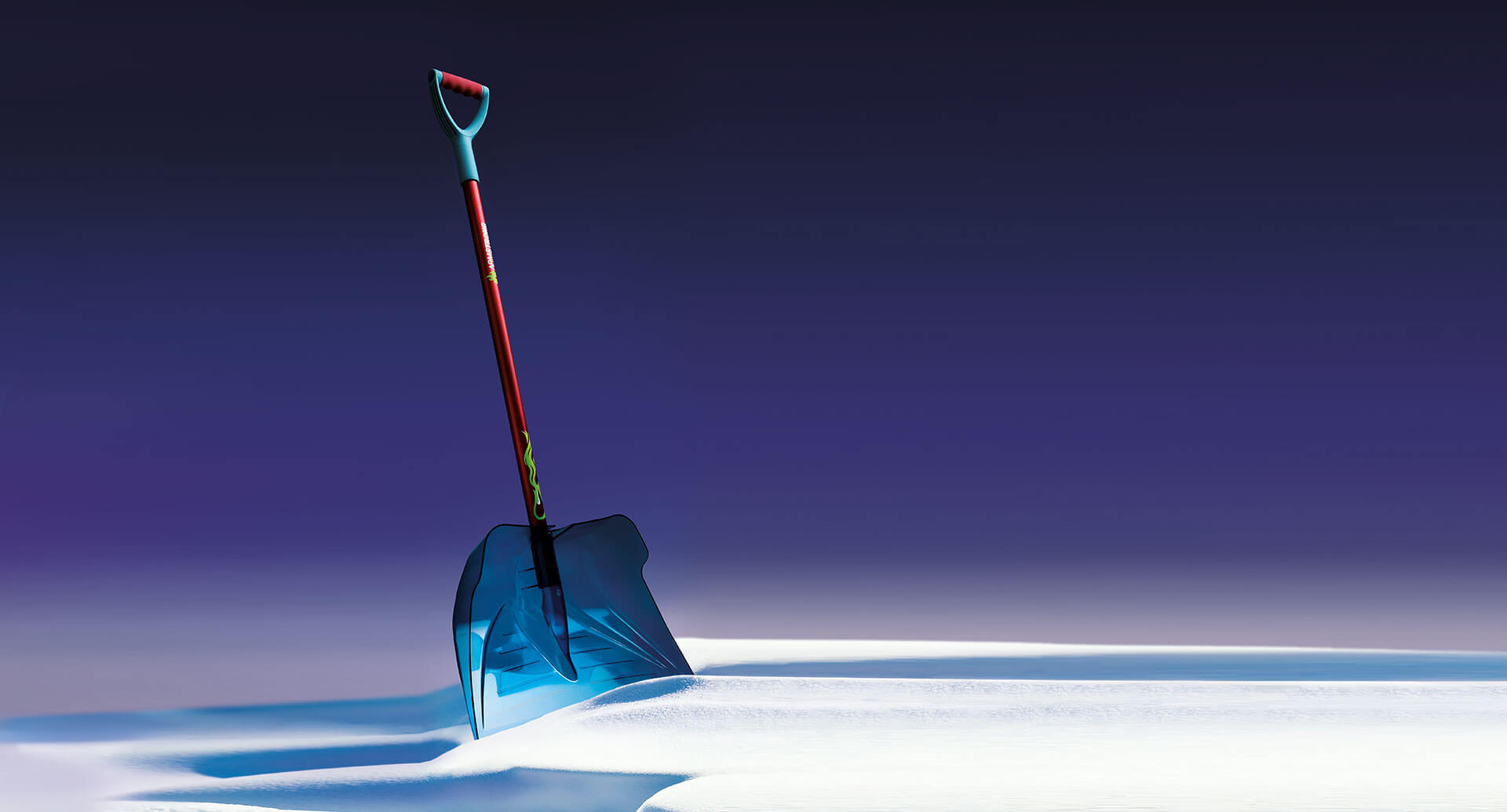 Armstrong snow shovel background
