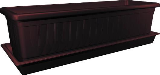 bew sserungssystem blumenkasten mi urin mit dochte 40 cm. Black Bedroom Furniture Sets. Home Design Ideas