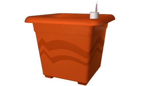 bew sserungssystem blumentopf quattro aqua pro 40x40 cm. Black Bedroom Furniture Sets. Home Design Ideas
