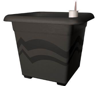 bew sserungssystem blumentopf quattro aqua pro 50x50 cm. Black Bedroom Furniture Sets. Home Design Ideas