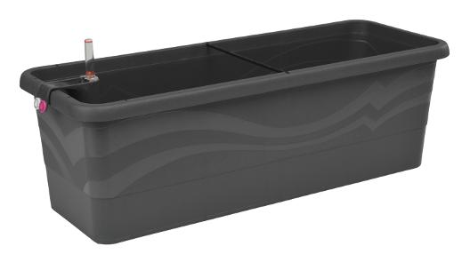 bew sserungssystem blumenkasten smart system gardenie 80. Black Bedroom Furniture Sets. Home Design Ideas