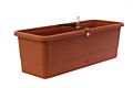 Self-irrigation window box Smart System Gardenie 60 cm terracotta