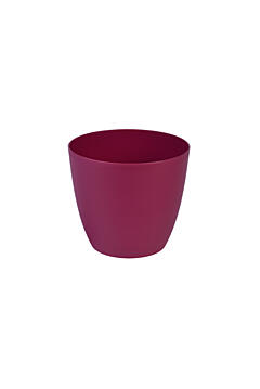 Decorative flower pot Ella  13 cm red