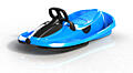 Steerable sledge Stratos electric blue