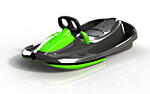 Steerable sledge Stratos mystic black