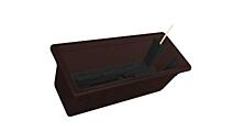 Self-irrigation window box Garden Flor 50 cm brown