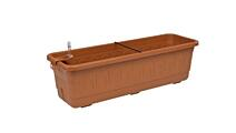 Self-irrigation window box Smart System Fantazie 40 cm terracotta