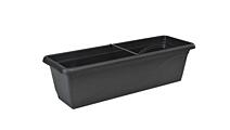 Window box Extra Flor 80 cm anthracite