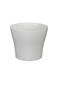 Decorative flower pot Tulipan  13 cm white