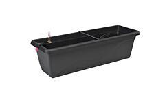 Samozavlažovací truhlík Smart Systém Extra Line 40 cm antracit