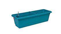 Jardinière à réserve d'eau Smart System Extra Line 40 cm turquoise