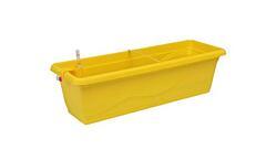 Samozavlažovací truhlík Smart Systém Extra Line 40 cm žlutá