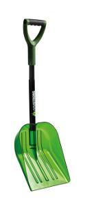 Snow showel Armstrong Auto telescopic lime transparent