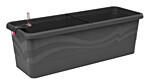 Self-irrigation window box Smart System Gardenie 100 cm anthracite